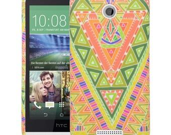 HTC Desire 510 Case, Jungle Maze TPU Silicone SkinPhone Case Cover