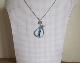 Hand designed beaded necklace