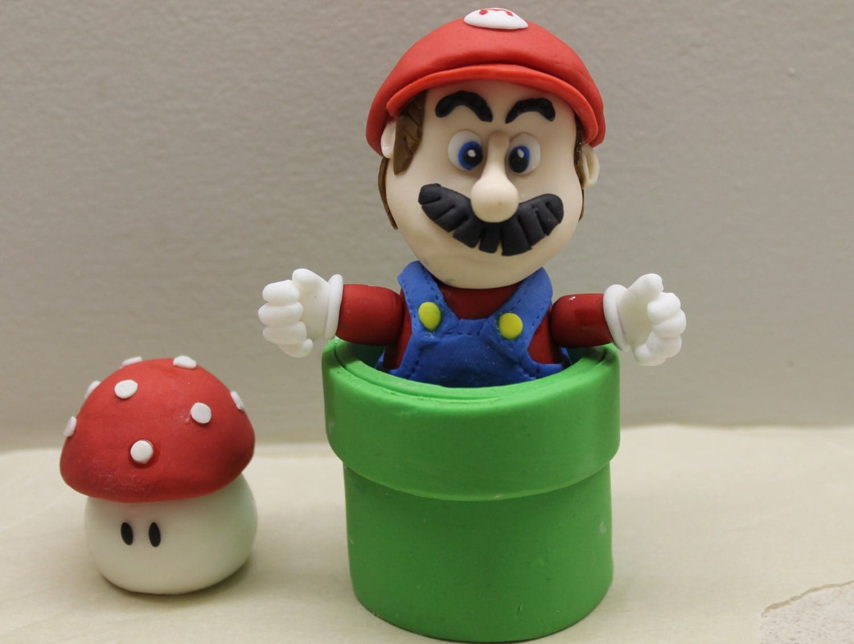 Mario Cake Topper Tutorial