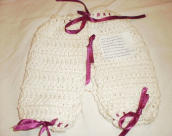 Britches dishcloth with poem