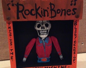 Rocking Bones Shadow Box Diorama