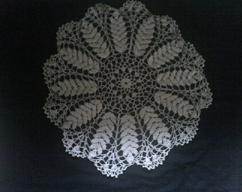 Doily crochetted