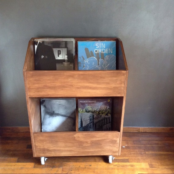 lp vinyl record storage shelf 500 capacity record store. Black Bedroom Furniture Sets. Home Design Ideas