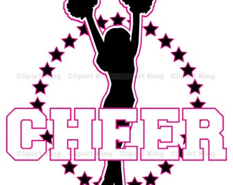 Premium Cheer clipart, vector graphics, digital clip art, digital images