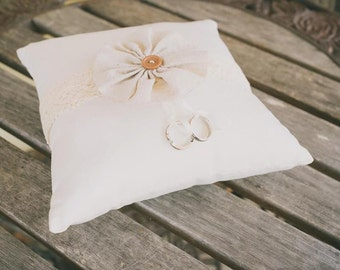 Handmade Ring Bearer's Pillow / Wedding