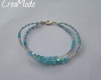 Bracelet adorned with rockeries pearls - friendship Bracelets.
