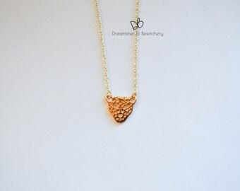 Little Leopard Pendant Necklace Gold