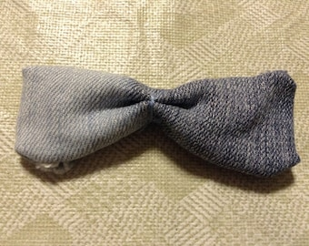 Two Tone/Ombre Denim Hair Bow (Child)