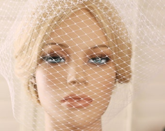 blusher, veil, wedding veil, bridal veil, tulle blusher, blusher veil, bridal blusher, wedding blusher, birdcage veil, short veil, face veil