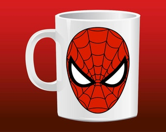 Spiderman logo for mug design - Tete de spiderman a imprimer ...