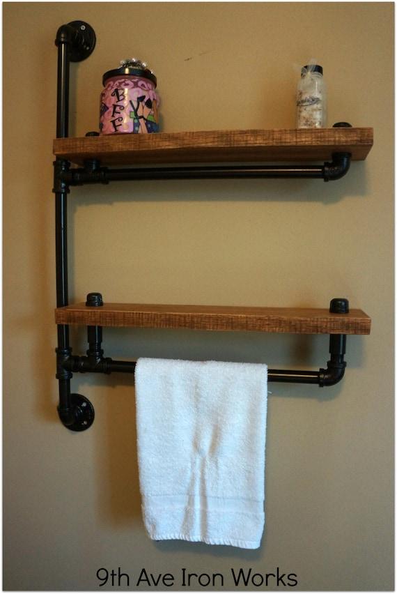 Fantastic Simply Modern Rustic Bathroom Shelf By KeoDecor On Etsy