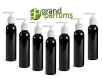 3 Colored Lotion Pump Dispenser BOTTLES 4 Oz, PBA Free PET Plastic Pump Cap Lotion, Shampoo, Body Cream, Soap Aromatherapy, Essential Oil