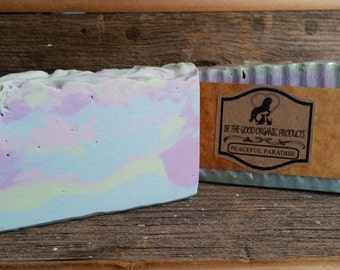 "All Natural Handmade Soap -- ""Peaceful Paradise Soap"""