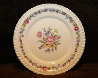 Royal Gadroon bouquet plate #1