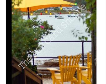 Item #45 // Yellow Adirondack Chairs