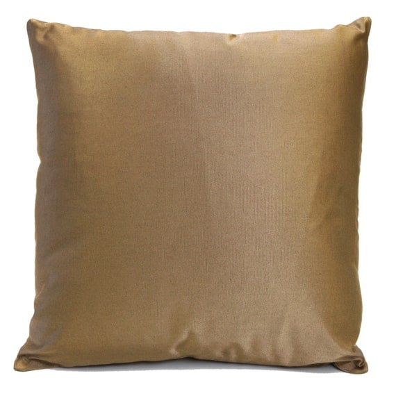 Gold Brown Throw Pillows : Gold Brown Tan Pillow Throw Pillow Cover Decorative Pillow