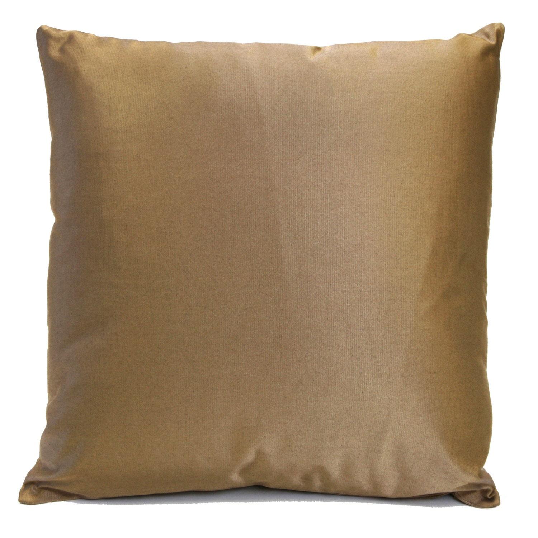 Gold Brown Tan Pillow Throw Pillow Cover Decorative Pillow