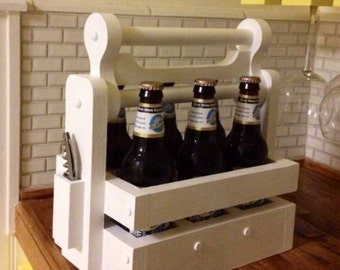 Handmade Beer Bottle Carrier/Holder
