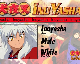 Inuyasha Prop Badges - Real Badges Complete with Clip