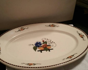 Texas State Hotel 1930 Platter