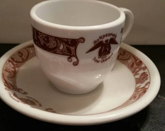 The Roosevelt New Orleans Cup and Saucer set