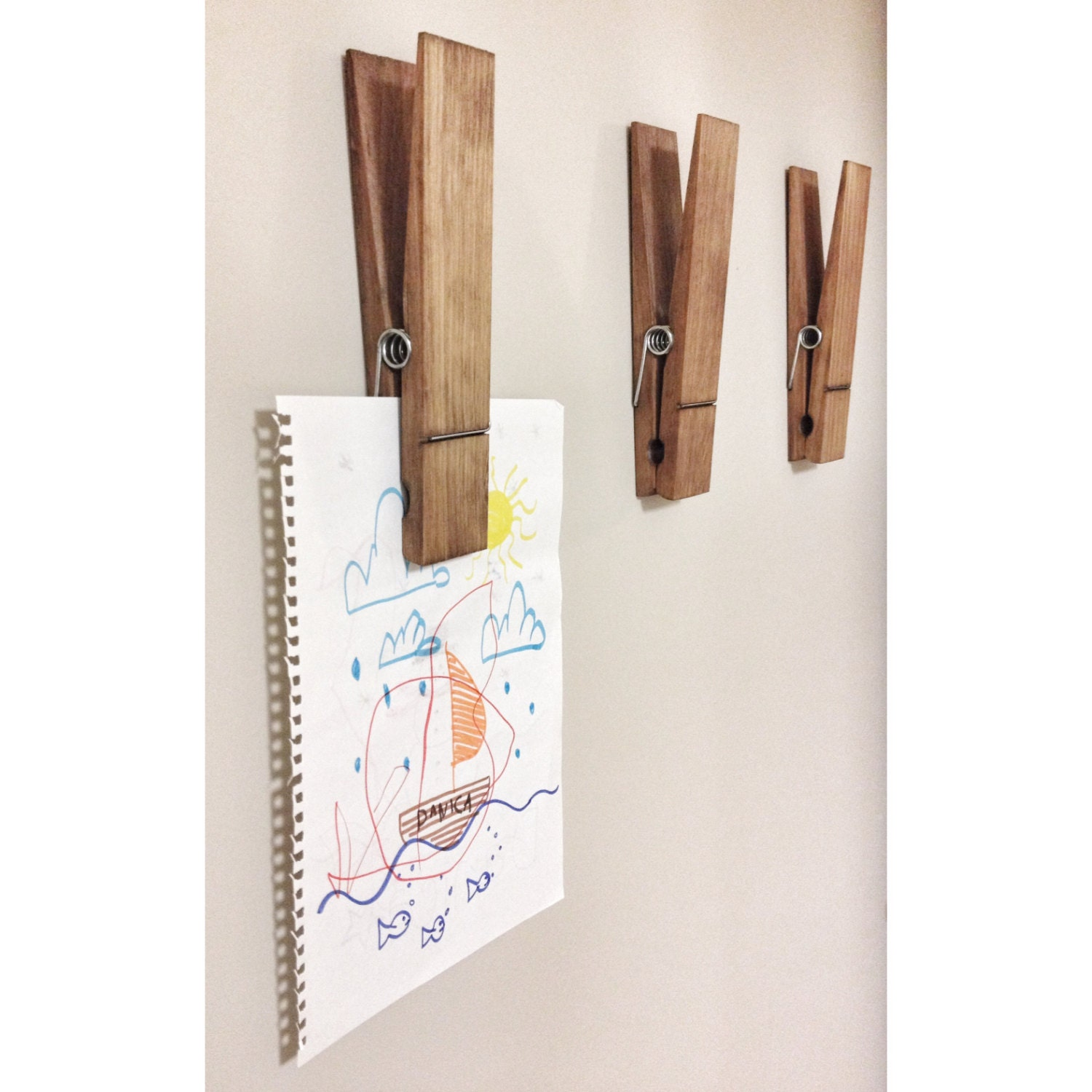 Large rustic 9 decorative clothespin in dark walnut finish large rustic 9 decorative clothespin in dark walnut finish office home bathroom nursery laundry wall decor note photo holder gift amipublicfo Gallery