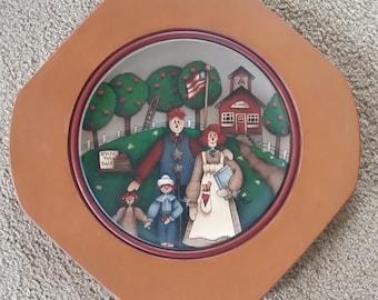 Raggy Ann Plate