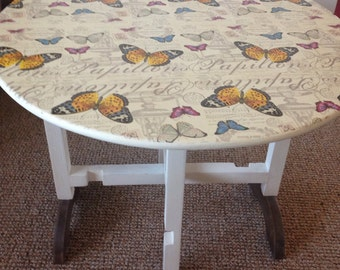 items similar to decoupage table the slave trade coffee