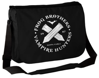 The Lost Boys - Frog Brothers Bros - Vampire Hunters - Messenger Bag - 80s Movies - Retro Cult Classic