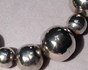 Silver necklace design by Jordi de el Toro by TdL