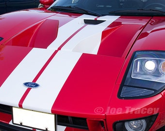 Ford GT, Automobile Photography, Automotive Wall Art, Automotive Decor, Super Cars, Fine Art Print, Abstract, Car Pictures, Exotic Cars
