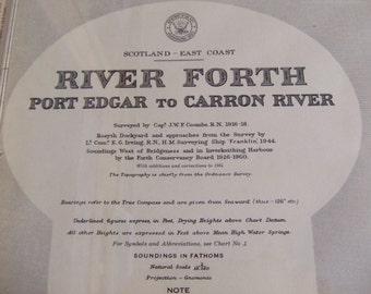 Scotland - East Coast - River Forth, Port Edgar to Carron River Nautical Chart