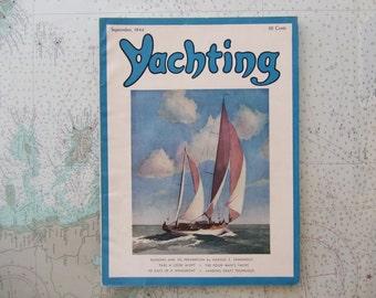 Yachting Magazine ~ September, 1944
