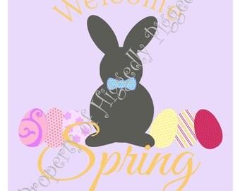 Welcome Spring Printable