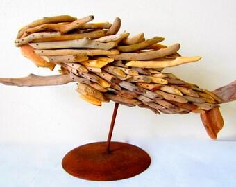 Handmade Driftwood Mermaid/Driftwood Mermaid/Mermaid Made Out Of Driftwood/Mermaid/Nautical Decor Mermaid/Driftwood Home Decor/Mermaid Decor