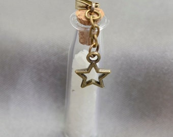 Glow in the dark bottle necklace