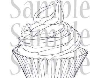Cupcake Digi-Stamp Bundle Pack