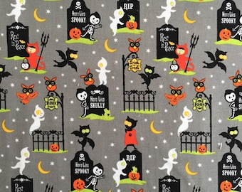 Riley Blake Fabric - Costume Clubhouse - Gray
