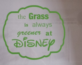 The Grass is always Greener at Disney/ cyber Monday sale