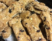 Dog Treats Blue Berry Yogurt Homemade One Pound Natural Organic No Wheat, No Soy, No Added Sugar 20% Of Proceeds Go To Rescue Groups