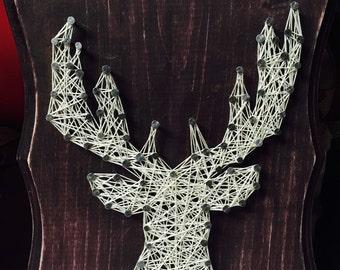 String Art Silhouette