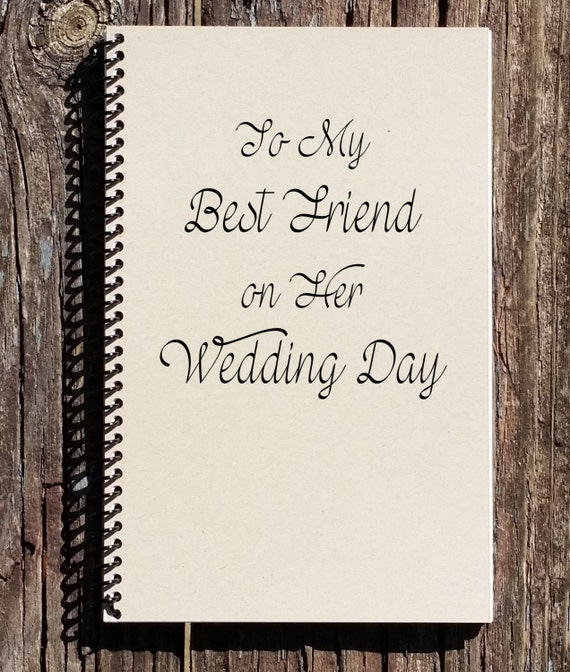 Wedding Gift For Bride From Best Friend : My Best Friend on Her Wedding Day - Best Friend Wedding Gift - Wedding ...