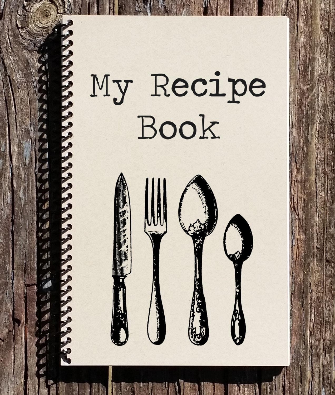 How to scrapbook a recipe book - Recipe Book Recipe Journal My Recipes Notebook Journal