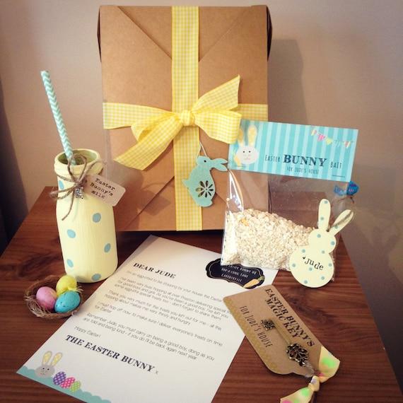 Easter Bunny personalised children's hamper