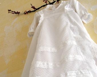 Baptism 3 lace dress
