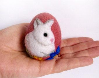 Easter eggs-felt eggs-wool felt eggs-Ester decor-Easter Bunny
