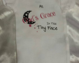 For that little one you've been blessed with... A cute little Onsie honoring them