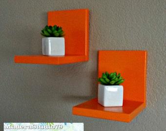 Set of Two-Floating Shelf - Bookshelves - Simple Shelf- Shelves- Art Decor-Wood Shelf -Set of Two Shelves-Reclaimed wood shelves-modern
