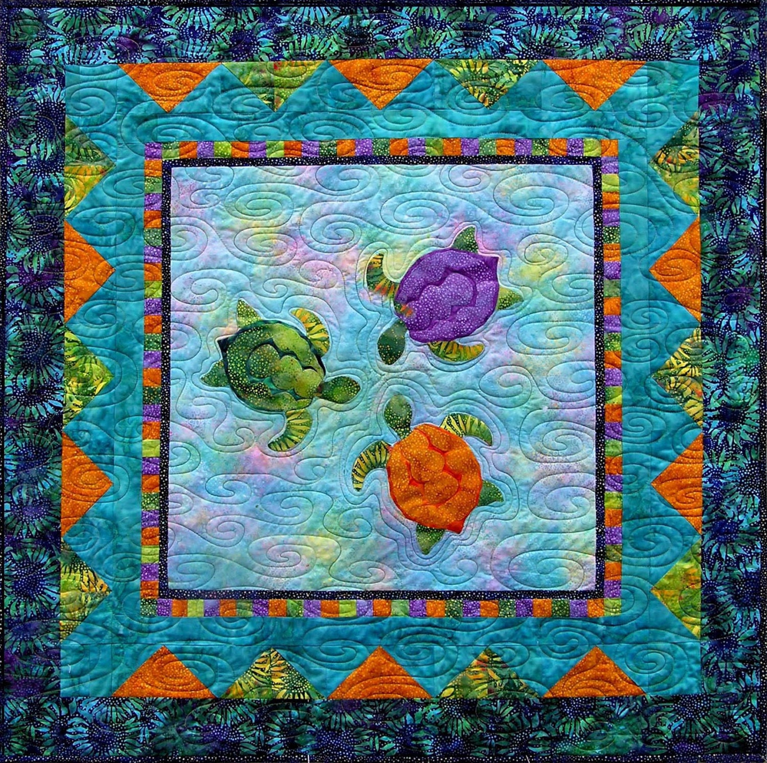 Quilt Patterns With Turtles : Chandeliers & Pendant Lights