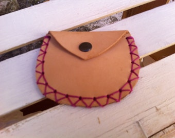 Leather wallet Purse Leather Purse